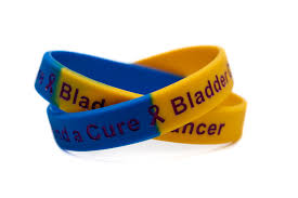 blue and yellow ribbon bladder cancer rubber wristband blue yellow purple find a