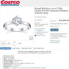 what size diamond earrings should i buy costco engagement rings review are they really cheaper