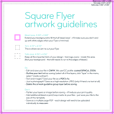 square flyers order square prints online moo