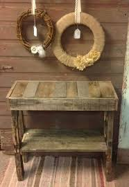 Unique Entry Tables Best 25 Pallet Entry Table Ideas On Pinterest Entry Table Diy