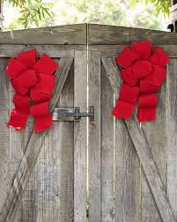 wire edged ribbon pre made wired ribbon bows balsam hill