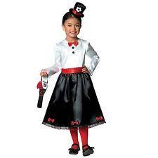 girls victorian nanny poppins book week mary kids parrot fancy