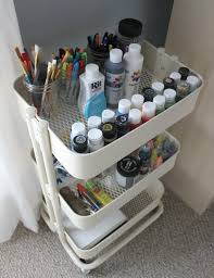 Ikea Craft Cart The Craft Cart Every Small Space Needs Jessica Slaughter