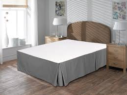 Platform Bed Skirt - simple delicate and luxurious gray bed skirt hq home decor ideas