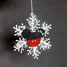 our disney cruise ornament exchange including an easy diy mickey