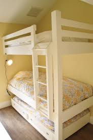 Plans For Building Built In Bunk Beds by Best 25 Bunk Bed With Trundle Ideas On Pinterest Built In Bunks