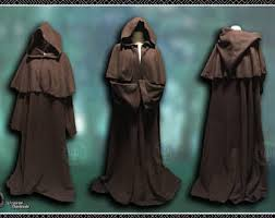 druidic robes polar fleece tendril cloak cape ritual robes druid wicca