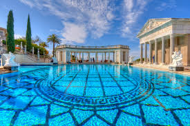 hearst mansion san simeon california usa playuna