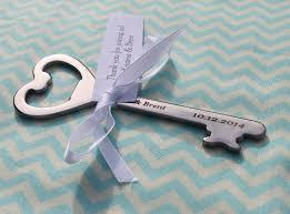 personalized bottle opener favor wedding ideas key bottle opener favor skeleton key wedding