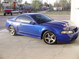 mustang supercharged for sale 2003 ford svt mustang cobra supercharged for sale garden city kansas