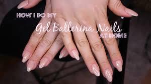 how i do my gel nails at home banggood gel nails set youtube