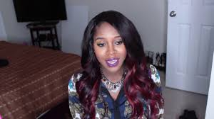 porsha hair product porsha stewart go naked virgin hair hair review youtube