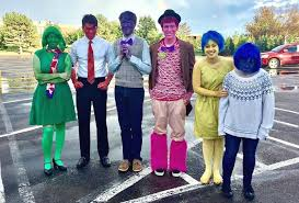 inside out costumes freshman fanfare seeks to bring emotions from inside out talon news