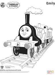 emily from thomas u0026 friends coloring page free printable
