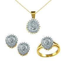 diamond sets images jewelry sets kmart