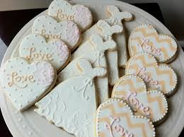 121 best wedding sugar cookies images on pinterest decorated