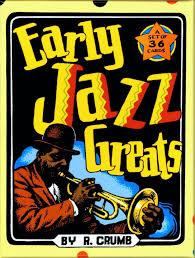 early jazz greats boxed trading card set by r crumb robert crumb