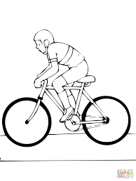 road bike coloring page free printable coloring pages
