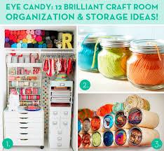 Storage Ideas For Craft Room - eye candy 12 brilliant craft room organization and storage ideas