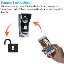 buy docooler wifi video door phone wireless digital smart peephole
