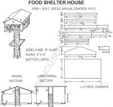 build a wooden see through bird feeder