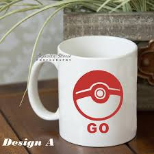 pokemon vinyl vinyl decal coffee mug decal water bottle