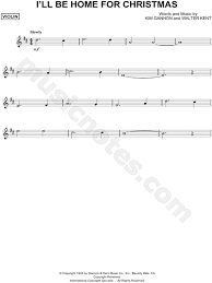 gannon i ll be home for sheet violin