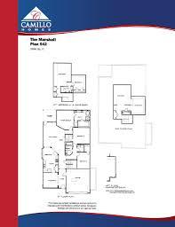 floor plans u2013 camillo homes lake conroe