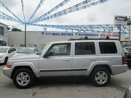 jeep commander silver jeep commander wing motors automobiles