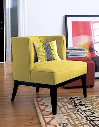 Patterned Armchair Furniture Fabulous Yellow Patterned Armchair For Private Sitting