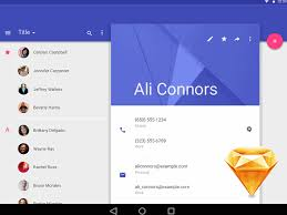 android l material design sketch freebie download free resource