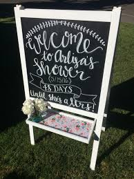 baby shower welcome sign best 25 bridal shower chalkboard ideas on kitchen tea