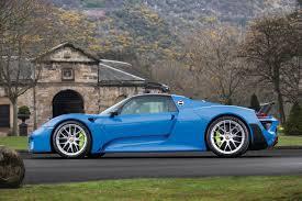 Porsche 918 Dark Blue - laferrari or porsche 918 which would you take home from villa d u0027este