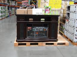 60 Inch Tv Stand With Electric Fireplace Decorating Gorgeous One Piece Costco Entertainment Center For