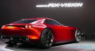 mazda supercar mazda rx vision concept gallery slashgear