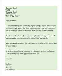 food poisoning complaint response letter sample cover letter