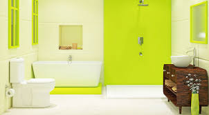 washroom ideas bathroom yellow white color combination beautiful stylish