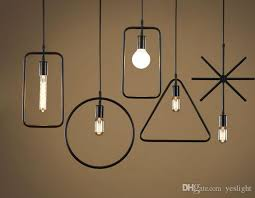 Iron Pendant Light Discount Retro Industrial Wind Cafe Iron Pendant Lights Bar