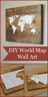 25 best world map wall ideas on pinterest bedroom wallpaper 16 adorable diy wall painting ways for refreshing your home decor