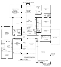 Estate Floor Plans by Woodson U0027s Reserve Estate Collection The Kingston Home Design