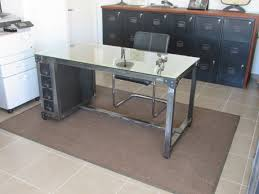 bureau stylé bureau et meuble à classeurs style industriel ferronnerie