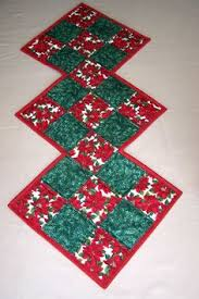 quilted christmas table runner unique shape