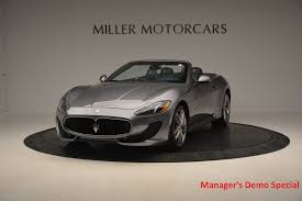 maserati supercar 2016 2016 maserati granturismo convertible sport stock m1455 for sale