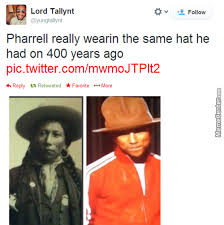 Pharrell Hat Meme - and he s happy with that by brisa meme center