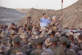 george bush the gulf war in pictures november 1990