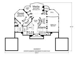 villa plans villa 6018 3 bedrooms and 3 5 baths the house designers