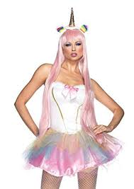 Unicorn Costume Amazon Com Leg Avenue Women U0027s 2 Piece Fantasy Unicorn Costume