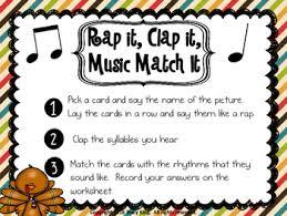 rap it clap it match it thanksgiving tpt
