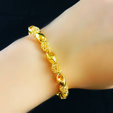 ladies bracelet gold jewelry images Wholesale super deal new arrival fashion jewelry plum gold jpg