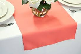 cheap coral table runners coral table runners table runners polyester o for organza rent reef